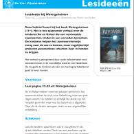 Lesbrief Watergeheimen: fabeldieren